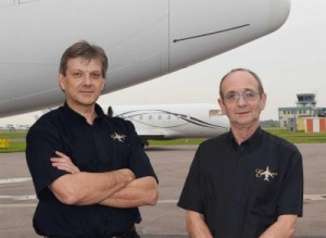 Colin Solley & Mike Smith Directors Of Excellence Aviation Services Ltd.