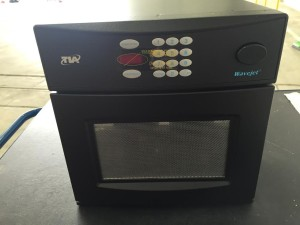 Global Express Aircraft Microwave Oven Front