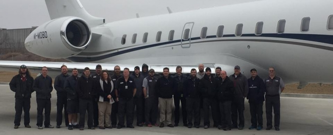 Excellence Aviation keeping your Global Express Maintenance costs down.