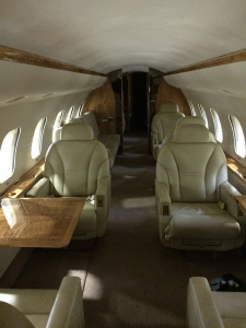 Global Express interior pre completion with Excellence Aviation Services