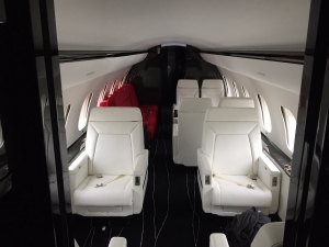 Global Express Interior completion with Excellence Aviation Services